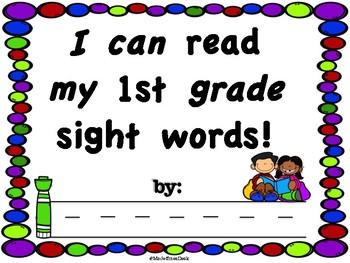 1st grade Sight Words Workbook