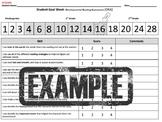 1st grade Student Reading Goal sheet -DRA