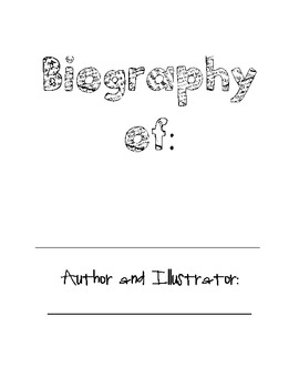 1st grade biography
