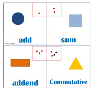 1st grade common core math calendar pieces