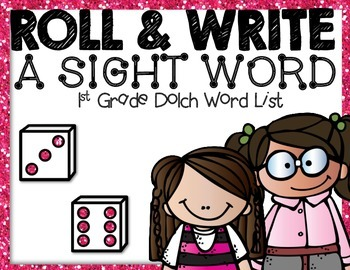 1st grade dolch roll and write