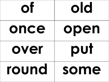 1st grade dolch sight words - 41 Words- flash cards, word wall