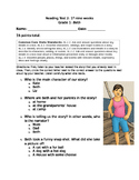 1st grade engage NY 1st nine weeks test 2