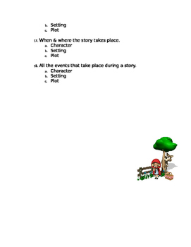 1st grade engage ny reading test 3 1st nine weeks