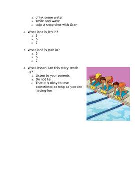 1st grade engage ny reading test 4 1st nine weeks