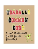 1st grade geometry common core I can statements