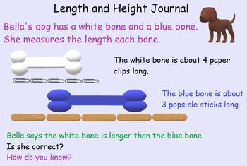 1st grade math journal freebie