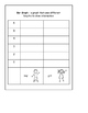 1st grade math journals/interactive notebooks
