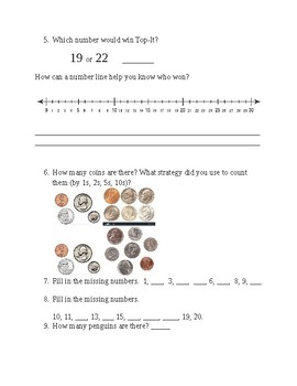 1st grade math unit 1