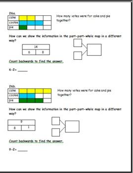 1st grade math warm-ups Common Core connected SET 3