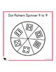 1st grade numeracy - 40 different spinners