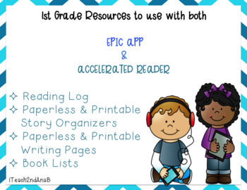 1st grade reading book list to use with EPIC APP
