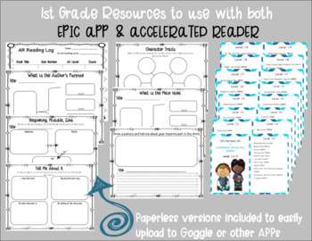 1st grade Resources for EPIC APP & Accelerated Reader (AR)