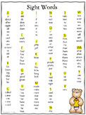 Sight Word Dictionary {Word Wall}