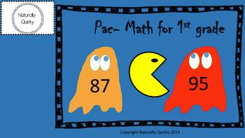 1st grade video game bundle PAC MATH