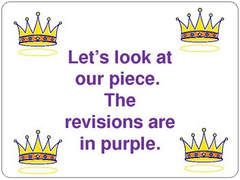 1st grade writers workshop lesson 1.10 Revising by Taking Away