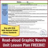 Graphic Novels Read-aloud Study Lesson Plan FREEBIE