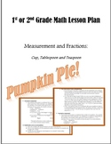 1st or 2nd Grade Math Lesson Plan: Measurement and Fractions