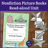 1st or 2nd Grade Nonfiction Genre Study (Activity Booklet