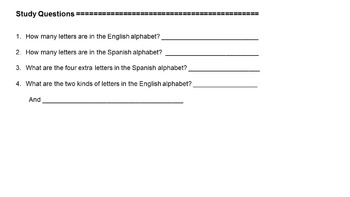 1st to 5th Grade Level 1 Complete Spanish Curriculum