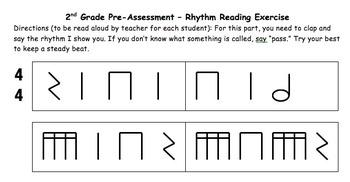 1st/2nd Grade Assessments