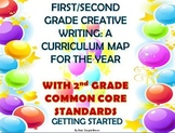 1st/2nd Grade Creative Writing Curriculum Map & Common  Co