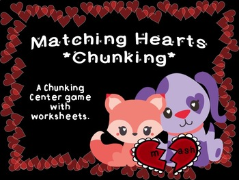 1st/2nd Grade Heart Word Chunking Game & Wksts IRLA 1B Key Word Families Aligned