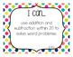 "1st Grade ""I Can"" Statements Bundle: All Standards - Rainb"