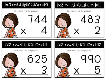 1x3-Digit Multiplication