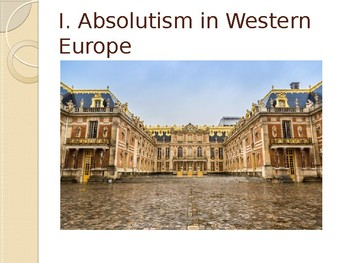 2.1 Absolutism and Constitutionalism - Presentation