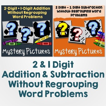 2-1 Digit Addition & Subtraction Without Regrouping