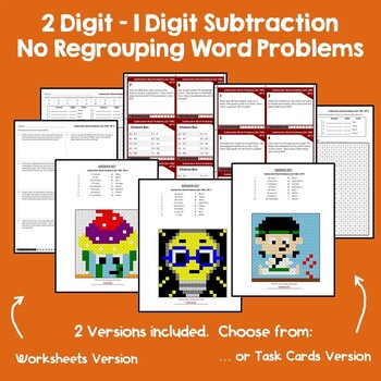 2-1 Digit Addition and Subtraction With & Without Regrouping