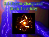 2.1 Electric Charge & Static Electricity, PowerPoint, Note