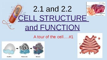 2.1 and 2.2 Cell Structure and Function...A tour of the cell #1
