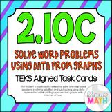2.10C: Bar Graphs & Pictographs TEKS Aligned Task Cards (GRADE 2)