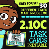 Math TEK 2.10C ★ Graphing Word Problems ★ 2nd Grade TEKS Task Cards