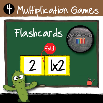 2 - 12 Times Tables Games, Flashcards and Activities in Easy Prep Resource