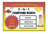 2-to-1 COMPOUND WORDS Game