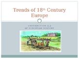 2.2 Trends of 18th Century Europe - Presentation