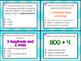 2.2B: Forms of Numbers TEKS Aligned Task Cards