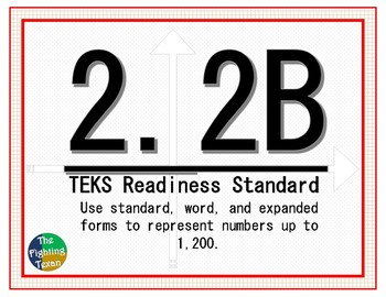 2.2B: Standard, Word, and Expanded Form Math Problems