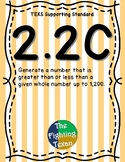 2.2C: Greater Than & Less Than Math Problems