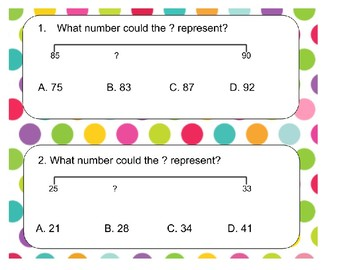 2.2F Identifying numbers on a numberline