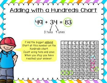 2 & 3 Digit Addition and Subtraction Strategies Pack #2
