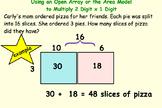 2-3 Digit  Multiplication Smartboard 4.NBT.B. Area Model and Traditional