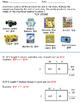 2-3 Digit x 1 Digit  Multiplication Worksheet with Area Model 4.NBT.B.5