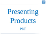 2.3 - ESL Business English Lesson - Presenting Products - PDF