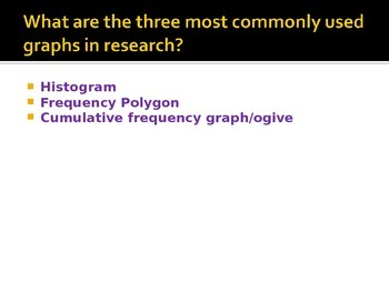 2-3 Notes Histograms, Frequency Polygons, Ogives