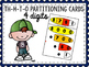 2, 3, and 4 digit partitioning cards