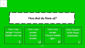 2.-3. klasse tekstoppgave - praktisk (bokmål)